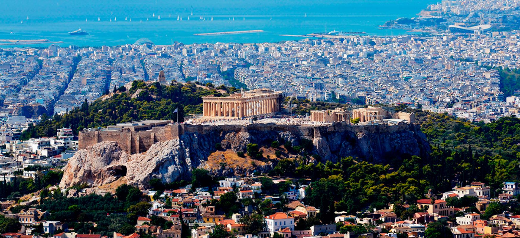 View over Athens.