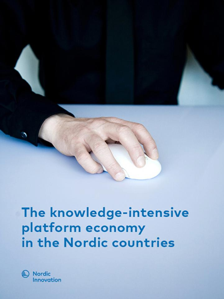 Front page The_knowledge-intensive platform economy in the Nordic countries 2019.