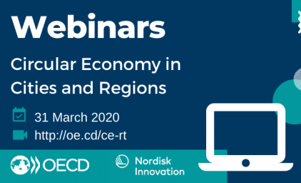 Webinars. Circular economy in cities and regions. 31 march 2020.