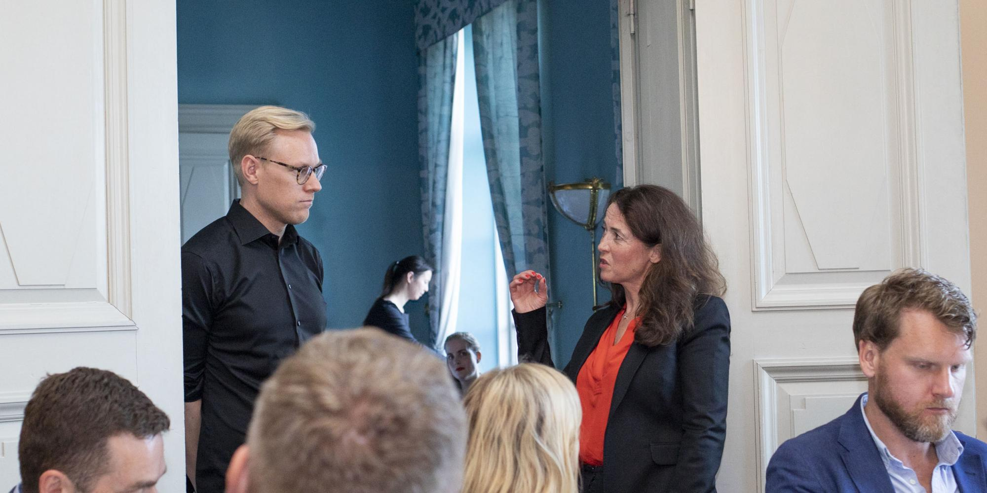 Erik Engellau-Nilsson, CEO of Norrsken Foundation was interviewed by Marie Wall, Deputy Director Startups at Ministry of Enterprise.