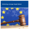Frontpage to Delivering a Stronger Single Market publication from 2012
