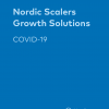 frontpage to the pamphlet Nordic Scalers, Growth solutions - Covid-19