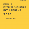 "Frontpage to the publication ""Female Entrepreneurship in the Nordics 2020"" June2020"